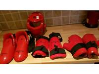 Martial arts sparring kit junior