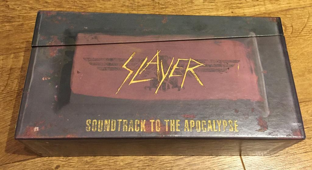 Slayer soundtrack to the apocalypse rare CD / DVD box set | in Stockport,  Manchester | Gumtree