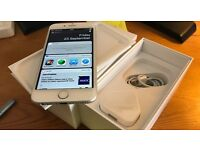 """iphone 6 128Gb Silver/White """"SimFree"""" Mint Condition"""