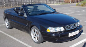 Volvo C70 Cabriolet Auto 2.0 litre Petrol 12 months MOT LOW MILES with BLACK LEATHER.