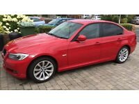 BMW 318 SE SALOON 2.0 PETROL, MANUAL, RED, ONLY 43000 Miles, FSH, 1YR MOT