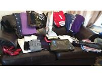 34 item women's bundle of mixed size clothes
