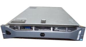 "Dell PowerEdge R710 Server - 2x Xeon 6 Core 2.66GHz (X5650) -64GB RAM  6X300GB LFF 3.5"" 15K  Hard Drives- PERC 6i RAID"