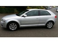 ***AUDI A3 SE (MOT APRIL 2018) FULL SERVICE HISTORY FULL SERVICE HISTORY WITH LOADS OF RECEIPTS