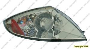 Tail Light Passenger Side Coupe/Spyder Without Amber Bulb High Quality Mitsubishi Eclipse 2006-2012