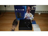 Ps4 Pro 1tb boxed Brand new with Fifa 18 controller & headset, purchased at christmas used twice.
