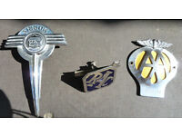 Collectable 1950's Car Badges
