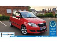 Skoda Fabia SE 1.4 Petrol 5dr (61) 2012 *1 Year Warranty* 69k *ULEZ Free*Strong VW Engine*