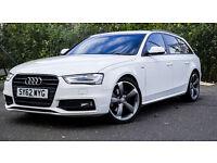 Audi A4 Avant S Line Black Edition 177BHP 2012 FACELIFT (start-stop system)