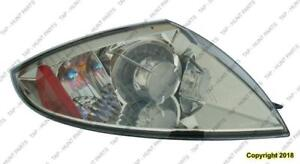 Tail Lamp Passenger Side Coupe/Spyder Without Amber Bulb High Quality Mitsubishi Eclipse 2006-2012
