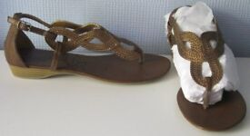 Ladies Shoes and Sandals, size 6, NEW or hardly worn. £2.50 - £6 per pair