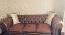 3 seater original chesterfield