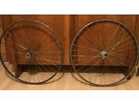 Mavic tubular wheels, 700c