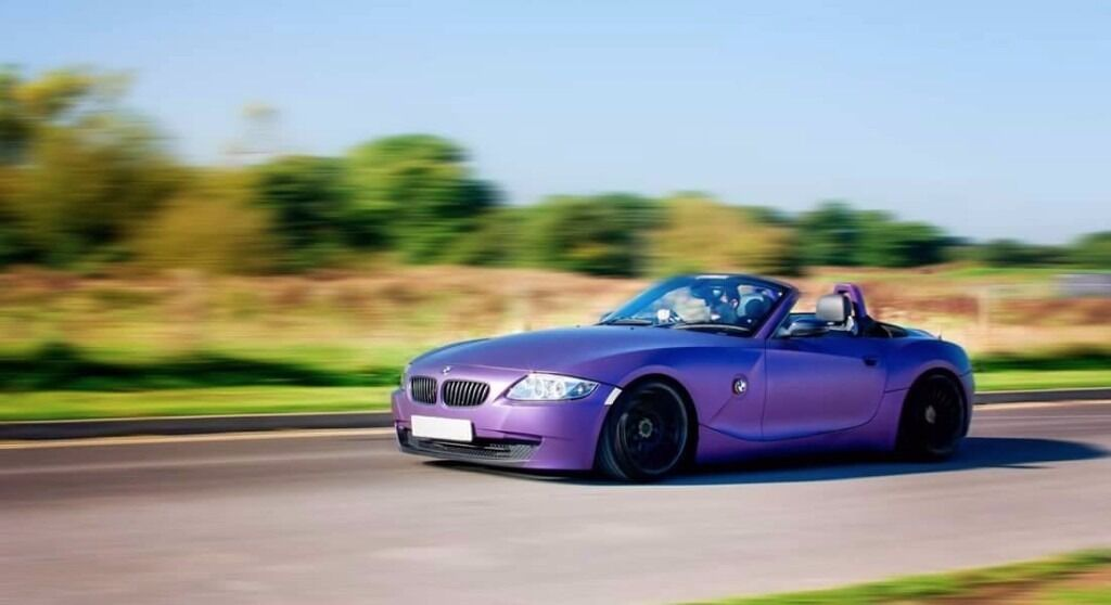 Bmw Z4 2004 3 0l Modified Slammed Low Drift Show Car