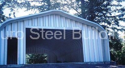 Durospan Steel 20x36x16 Metal Diy Garage Shop Home Building Kit Factory Direct
