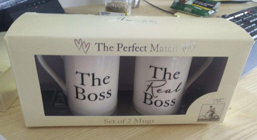 The Perfect Match Set Of 2 Mugs