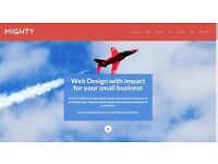 Web Design to grow your business - Mighty Designs.