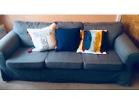 Three seater sofa: IKEA Ektorp Charcoal grey