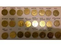 Various coins £2 and 50p
