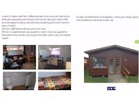 Chalet to rent 10mins walk to huge beach at Mablethorpe 6 berth two beds