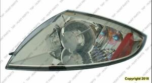 Tail Light Driver Side Coupe/Spyder Without Amber Bulb High Quality Mitsubishi Eclipse 2006-2012