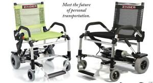 ZINGER CHAIR is now at My Scooter - www.MyScooter.ca