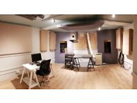 Large music studio / production room in the heart of Dalston