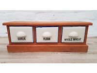 Kitchen Table Top Three Drawer Unit (DELIVERY AVAILABLE)