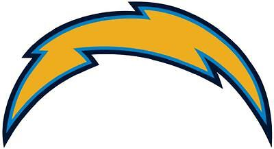 San Diego Chargers Vinyl - 12 STICKERS SAN DIEGO CHARGERS Vinyl HQ Decal Stickers  CAR Laptop WALL Helmet