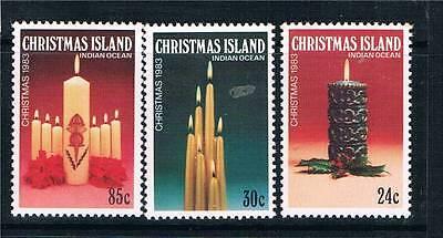 Christmas Is 1983 Christmas  SG 178/80 MNH
