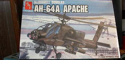AMT McDonnell Douglas AH-64A APACHE HELICOPTER-1/72 Scale