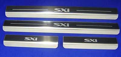 Vauxhall Corsa C SXi 4 Door Sill Kick Plates Sills Protectors