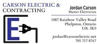CARSON ELECTRIC - ELECTRICAL CONTRACTOR