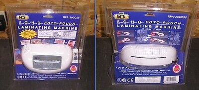 Royal Sovereign Rpa-200csf Rpa-200cl Laminating Machine W Bonus 24 Pouches
