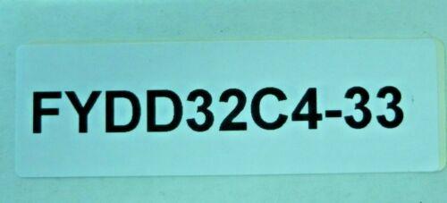 MICRO SWITCH PROXIMITY SENSOR FYDD32C4-33 HONEYWELL