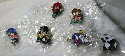 RANMA 1/2 PIN SET - Badge - CLOISONNE - Anime - Rumiko Takahashi -Manga New Mint