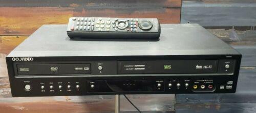 GoVideo DV3130 DVD Player VCR VHS Recorder *FULLY REFURBISHED* MINT