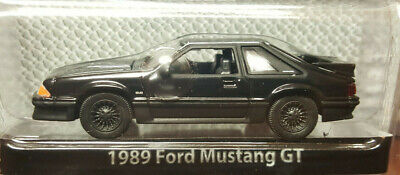 GreenLight Collectibles - 1989 Ford Mustang GT - Black Bandit Series 6