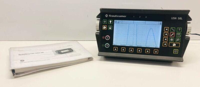 GE KrautKramer Branson USN58L SW Ultrasonic Flaw Detector