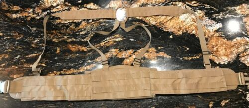 Blue Force Gear SOC-C Modular Padded Belt Kit With Suspenders-Coyote