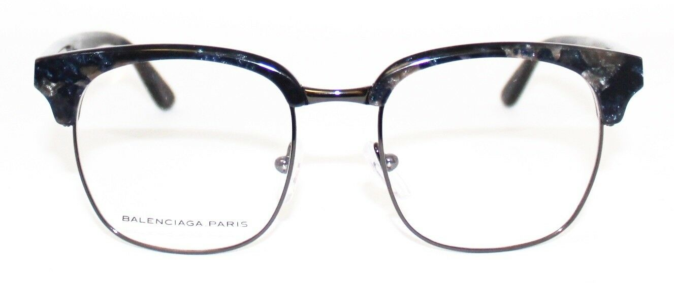 83e195131e Details about 350  New+Case Balenciaga Square Glasses Frame Eyeglasses  BAL0120 Marble Grey