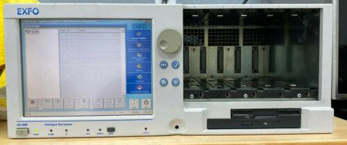 Exfo IQS-500 / IQS-505P-N10-G1 Intelligent Optic Test System Control Unit 5 Slot