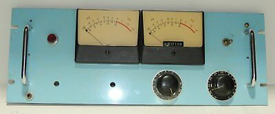 Professional 19 Rack With 2 Big Vu Meters For Your Western Electric Tube Amp