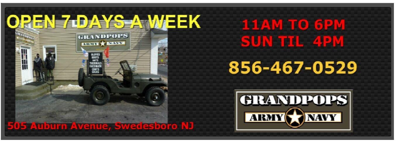 Grandpops Army Navy Ebay Store