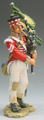 KING & COUNTRY THE AGE OF NAPOLEON NA008 BRITISH BAGPIPER MIB