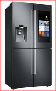 Samsung 671L Family Hub French Door Fridge (SRF670BFH) Engadine Sutherland Area Preview