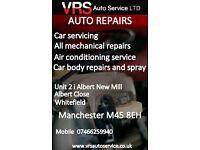 REPAIR CARS, SERVICE, BODY CAR REPAIR AND SPRAY