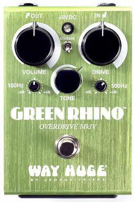 Way Huge JD-WHE207 Green Rhino Overdrive MK IV Guitar Pedal