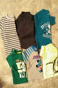 9-12 month long sleeve lot