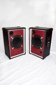 """2 x 12"""" Passive Speakers and Mixer £150 ono"""